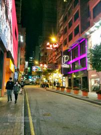 Walking along Ashley Road, Tsim Sha Tsui