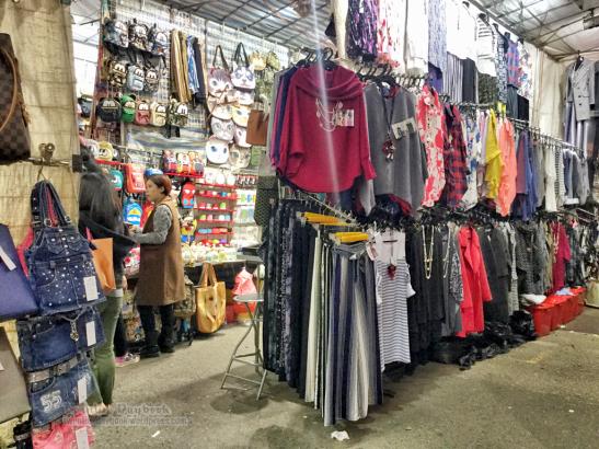 Fashion finds at Ladies Market