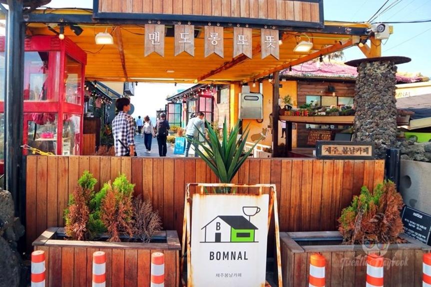 Bomnal Cafe in Aewol, Jeju [봄날카페]