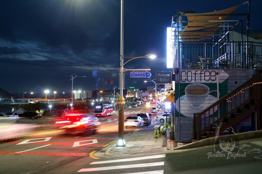 Chilsimni Food Street + Where I Stayed in Seogwipo, JejuIsland